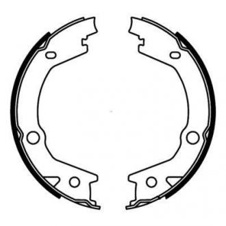 Тормозные колодки, барабанные C00527ABE