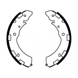 Тормозные колодки, барабанные C05060ABE
