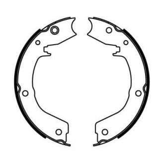 Тормозные колодки, барабанные C05061ABE