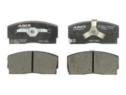 Тормозные колодки, дисковые C16006ABE