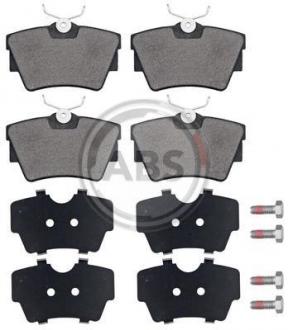 Тормозные колодки дисковые 1 комплект A.B.S. 37288