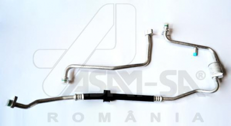 Трубка кондиционера Renault Logan 1.2i, 1.4i, 1.6i (04-) (32686) Asam