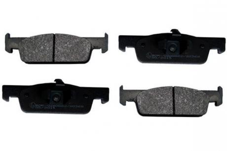 Тормозные колодки передние Logan2/Sandero2/Clіo4 ->16 L=140mm H=42mm 55284