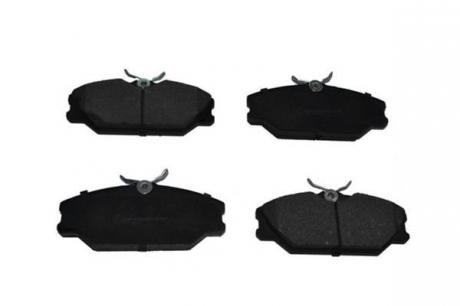 Колодки тормозные передние (E MARK) 71388