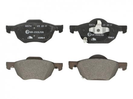 Комплект тормозных колодок, дисковый тормоз 13.0460-5714.2