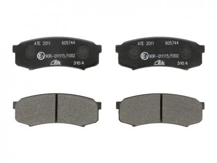 Комплект тормозных колодок, дисковый тормоз 13.0460-5744.2