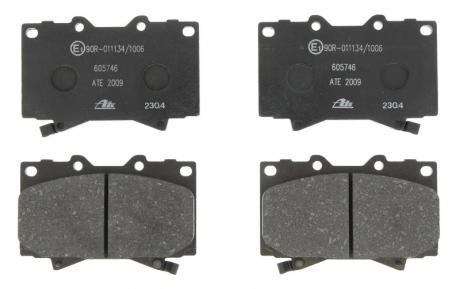 Комплект тормозных колодок, дисковый тормоз 13.0460-5746.2