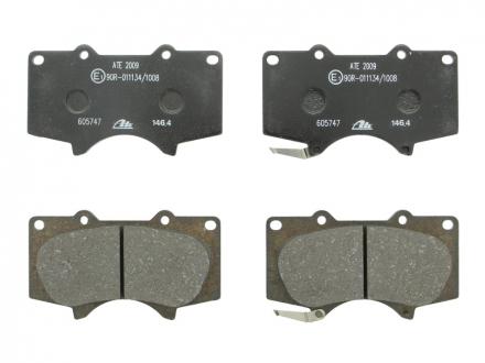 Комплект тормозных колодок, дисковый тормоз 13.0460-5747.2