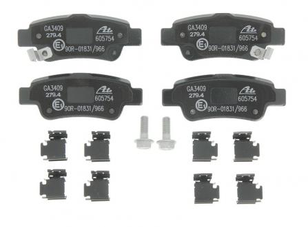 Комплект тормозных колодок, дисковый тормоз 13.0460-5754.2