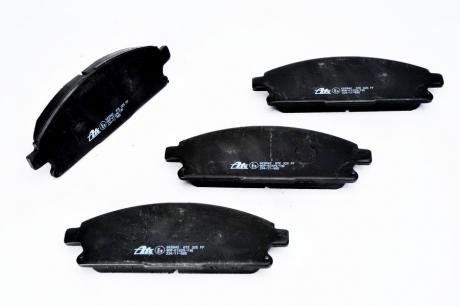 Комплект тормозных колодок, дисковый тормоз 13.0460-5842.2