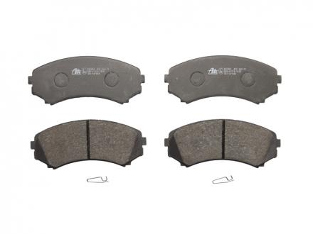 Комплект тормозных колодок, дисковый тормоз 13.0460-5853.2