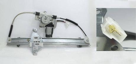 Стеклоподъемник двери задней (с мотором) L Chery Eastar B11-6204110