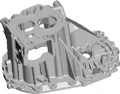 Корпус КПП средняя часть Chery Tiggo Eastar QR523-1701101