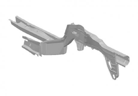 Лонжерон передний R Chery Tiggo T11-5101040-DY
