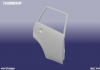 T11-6201020-DY Auto Parts Дверь задняя R Chery Tiggo (фото 1)