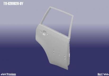 T11-6201020-DY Auto Parts Дверь задняя R Chery Tiggo