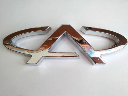 Эмблема решетки радиатора Chery Tiggo 5 (210*68mm) T21-3921505