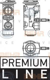 Клапан кондиционера E61/E63/E64 2.0-5.0 (Premium Line OE) 8UW351234-201