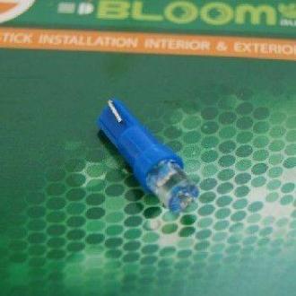 Лампа светодиодная T5 1led вогнутый синий BL-L0101-blue
