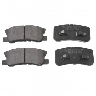 Тормозные колодки дисковые ADC44259