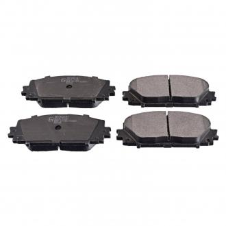 Колодки тормозные дисковые передние Lexus, Toyota (пр-во Blue Print) ADT342181