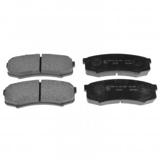 Тормозные колодки дисковые ADT34280