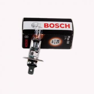 Лампа галогенная BOSCH (+50%) 12V 55W P14.5s