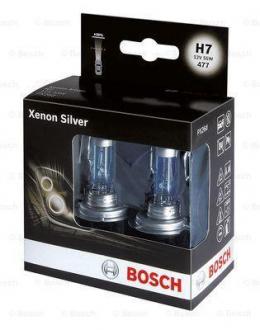 Лампа Н7 55W 12V Xenon Sіlver бокс 2 шт. - снято с вир-ва 1987301087
