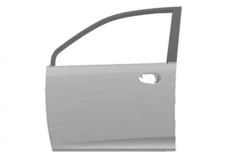 Дверь передняя левая (оригинал) S21 S21-6101010-DY
