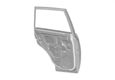 Дверь задняя правая (оригинал) T11 T11-6201020-DY
