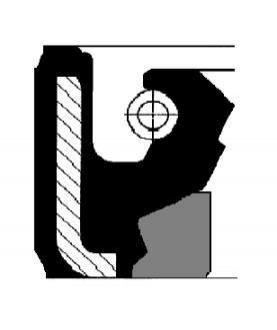 Прокладка рулевой рейки 01019952B
