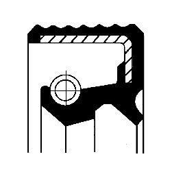 Прокладка рулевой рейки 12015526B