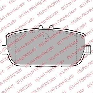 Колодки тормозные дисковые LP2027