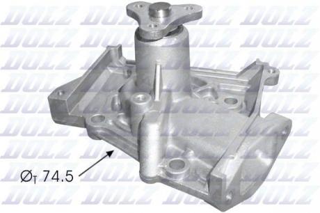 Насос системы охлаждения K107