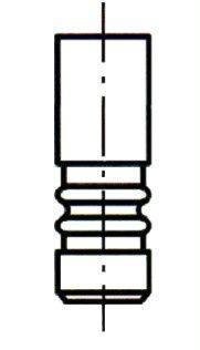 VE0122 ET ENGINETEAM Выпускной клапан