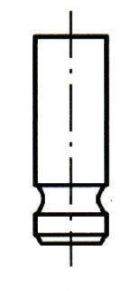 VI0119 ET ENGINETEAM Впускной клапан