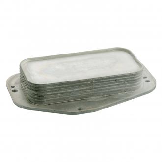 Радиатор масляный Chevrolet, OPEL (без прокладок) (пр-во FEBI) 101407
