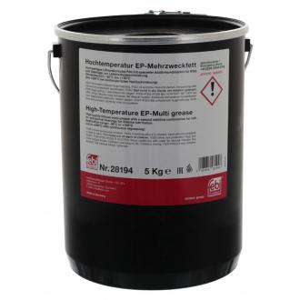Смазка высокотемпературная FEBI (зеленая) универсальная 5 кг. 28194