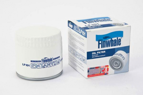 Фильтр масляный ВАЗ 2101-07, АЗЛК 2141, ГАЗ и УАЗ с дв. (УМС) (пр-во FINWHALE) LF101