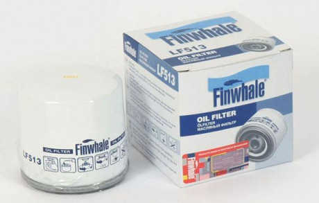 Фильтр масляный Aveo 1.2L, Spark (05-10), Matiz (пр-во FINWHALE) LF513