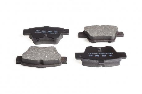 Колодки тормозные задние Geely EC7 EC7RV FITSHI 1064001725