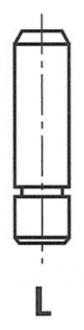 Направляющая втулка клапана G11136