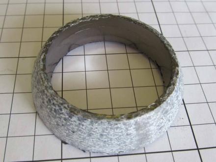 Прокладка катализатора (кольцо) 51мм (оригинал) Geely 1016002020