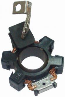 Щеточный узел стартера Ланос 1,5 (0,8кВт) пластик GM 93740997