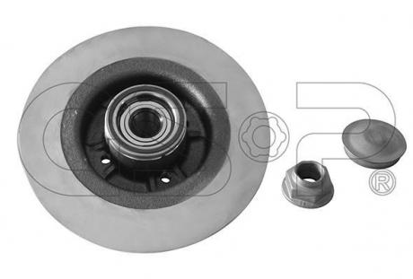 Тормозной диск в сборе с подшипником 9230140K