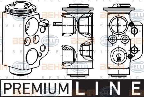 Клапан кондиционера расширительный 8UW 351 234-471