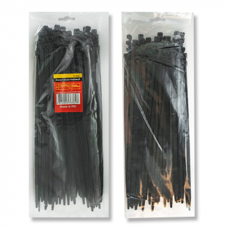 Хомут пластиковый 2,5x150 мм, (100 шт/упак), черный INTERTOOL TC-2516