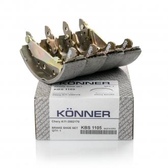 Колодки тормозные задние (KONNER) A13 A15 CK без АБС A11-3502170 A15-3502170 3502145106 KBS-1105