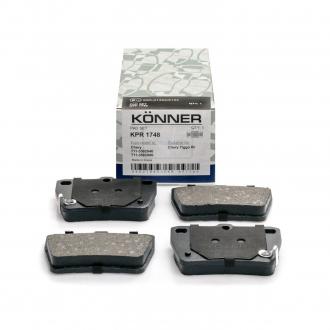 Колодки тормозные задние Chery Tiggo KONNER T11-BJ3501080-KONNER