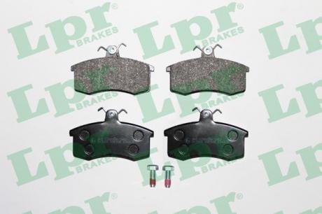 Тормозные колодки дисковые 05P288